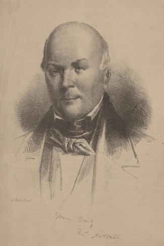 Thomas Nuttall, 1860 Stampa giclée