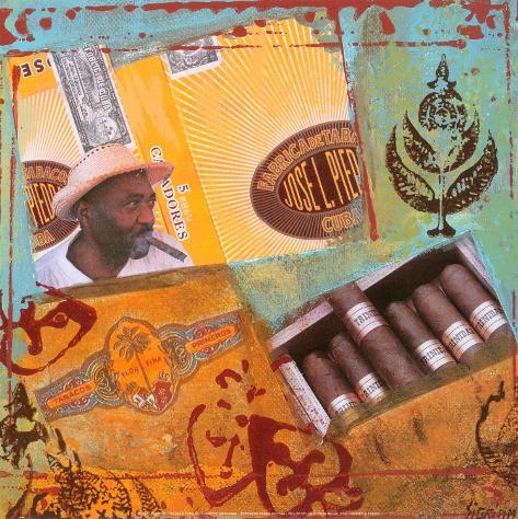 Un Jour a Cuba III Art Print