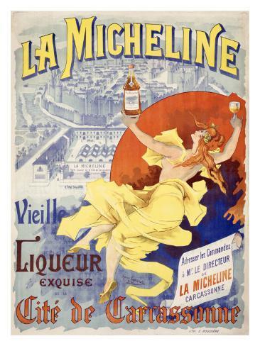 La Micheline Giclee Print