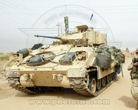 M2 Bradley Infantry Fighting Vehicle United States Army Photo