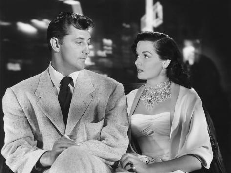 Macao, from Left, Robert Mitchum, Jane Russell, 1952 Photo