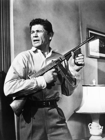 Machine-Gun Kelly, Charles Bronson, 1958 Photo