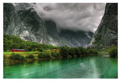 Norway 45 Art Print