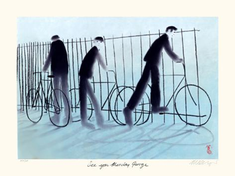 See You Monday George Collectable Print