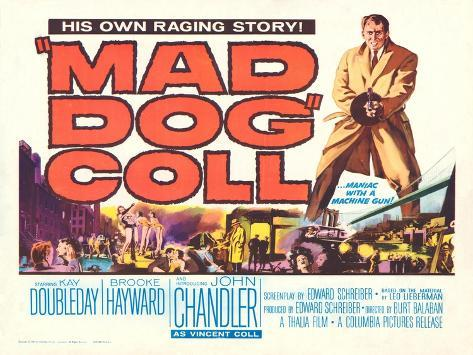 Mad Dog Coll, 1961 Art Print
