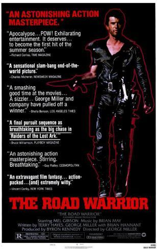 Mad Max 2: The Road Warrior Stampa master