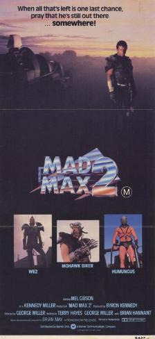 Mad Max 2: The Road Warrior Masterprint