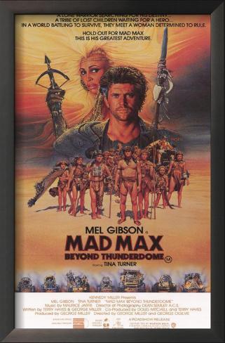 Mad Max: Além da Cúpula do Trovão Impressão artística emoldurada