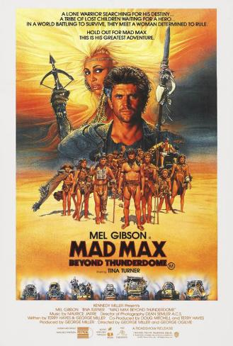 Mad Max bortom Thunderdome Poster