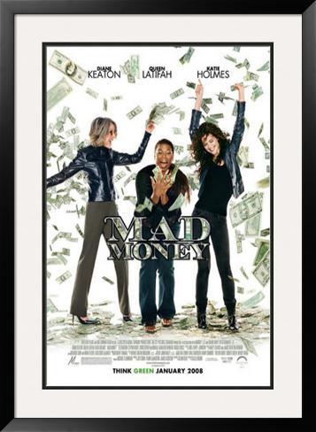 Mad Money Framed Art Print