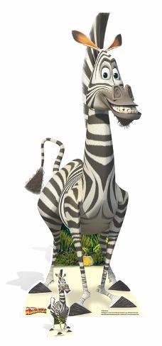 Madagascar - Marty - Mini Cutout Included Cardboard Cutouts