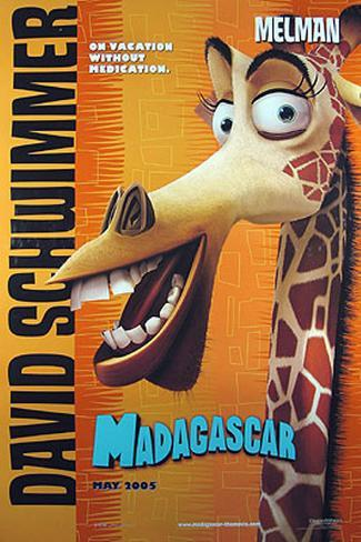 Madagascar Double-sided poster