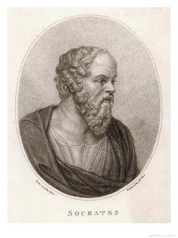 Socrates Athenian Philosopher Lámina giclée