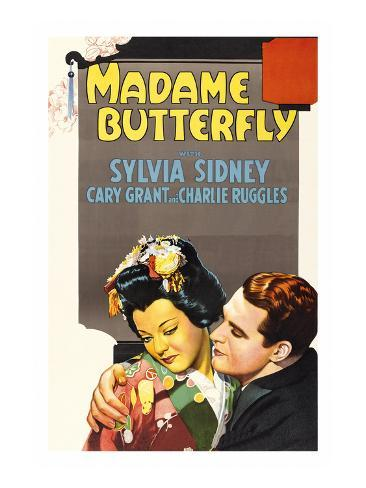 Madame Butterfly Premium Giclee Print