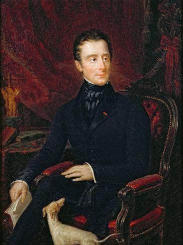 Alphonse de Lamartine Giclee Print