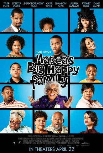 Madea's Big Happy Family Lámina maestra