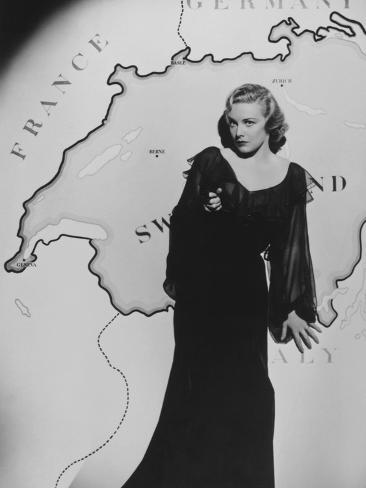 Madeleine Carroll, Secret Agent, 1936 Photographic Print