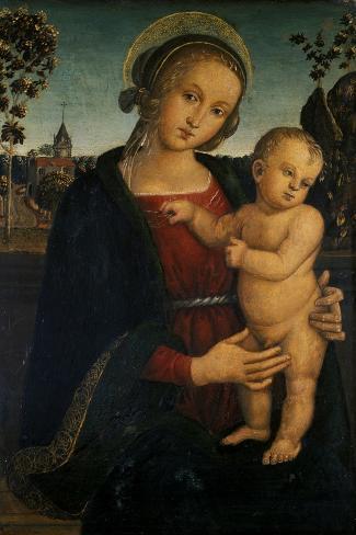 Madonna and Child, 1500 Impressão giclée