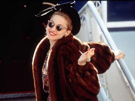 Madonna as Evita Photographic Print
