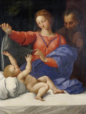 Madonna Di Loreto Impressão giclée