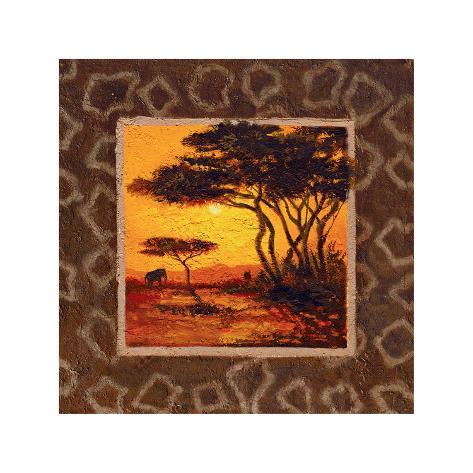 Savannah Sunset II Giclee Print