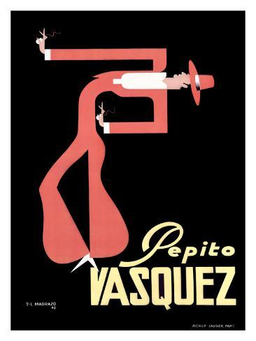 Pepito Vasq Giclee Print