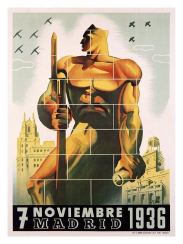 Madrid, November 7, 1936 Giclee Print