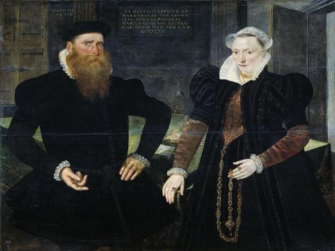 Portrait of Gillis Hooftman, Shipowner Art Print
