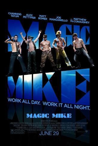 Magic Mike Double-sided poster