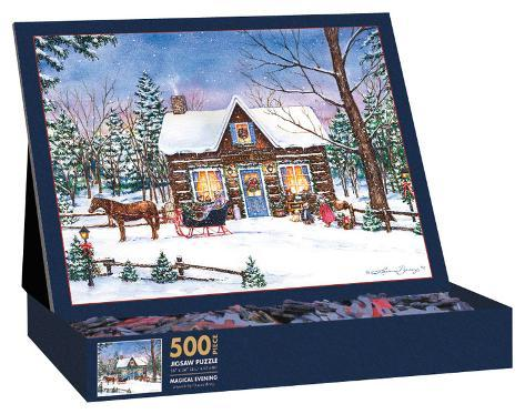 Magical Evening 500 Piece Jigsaw Puzzle Jigsaw Puzzle