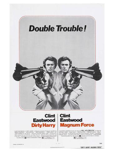 Magnum Force, 1973 Stretched Canvas Print