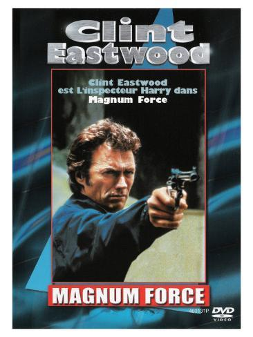 Magnum Force, French Movie Poster, 1973 Stretched Canvas Print