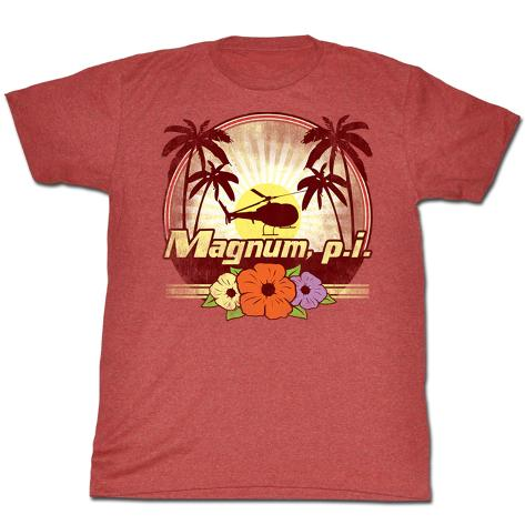 Magnum Pi - Flowers T-Shirt