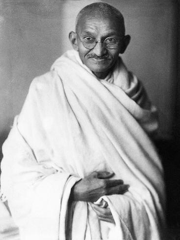 Mahatma Gandhi Photographic Print