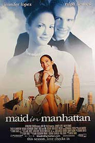 Maid In Manhattan Double-sided poster