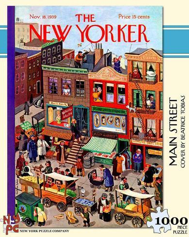 Main Street 1000 piece Puzzle Jigsaw Puzzle