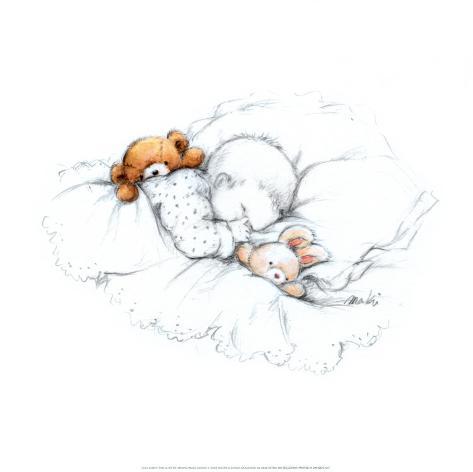Sleepy Time III Art Print