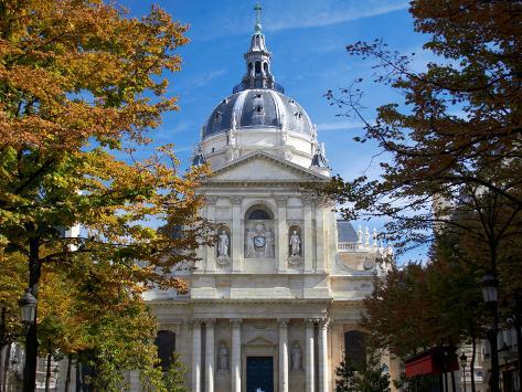 Capella University of Sorbonne, France Photographic Print