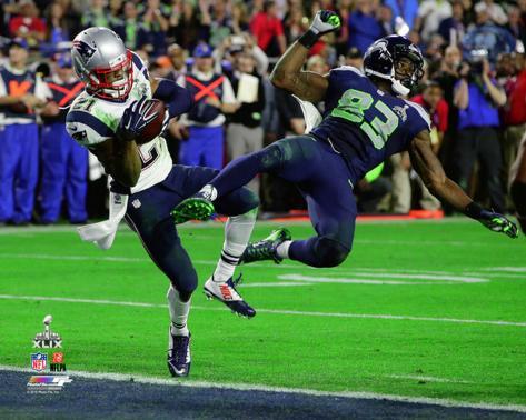 Malcolm Butler New England Patriots Super Bowl XLIX Photo