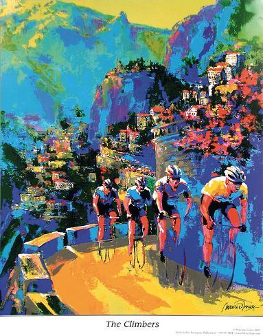 The Climbers Art Print