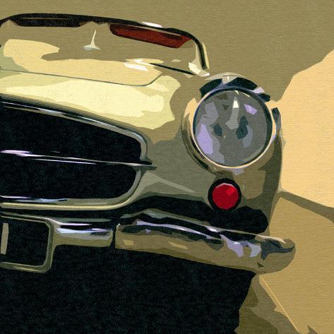 Mercedes Classic Art Print