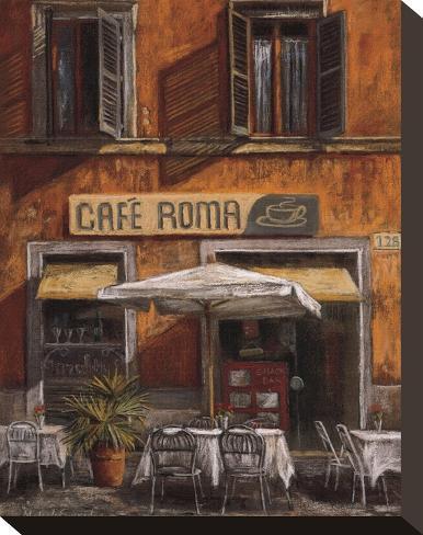 Cafe Roma Stampa su tela