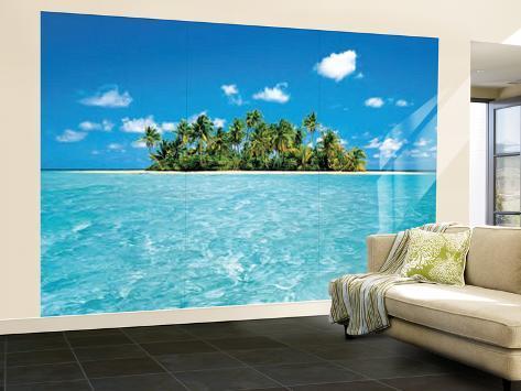 Maldive Dream Huge Wall Mural Art Print Poster Mural De Papel De Parede Part 53