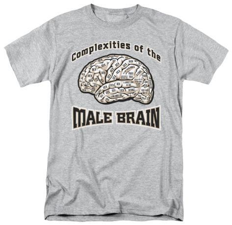 Male Brain T-Shirt