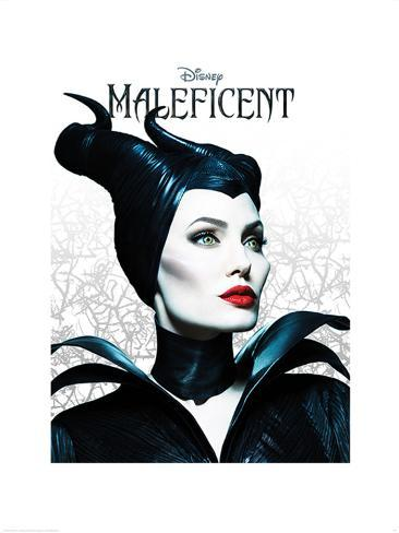 Maleficent - Pose Art Print
