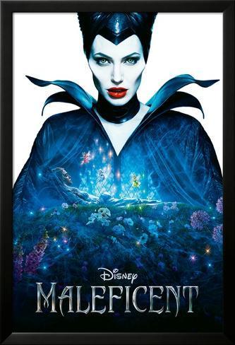 Maleficent Lamina Framed Poster