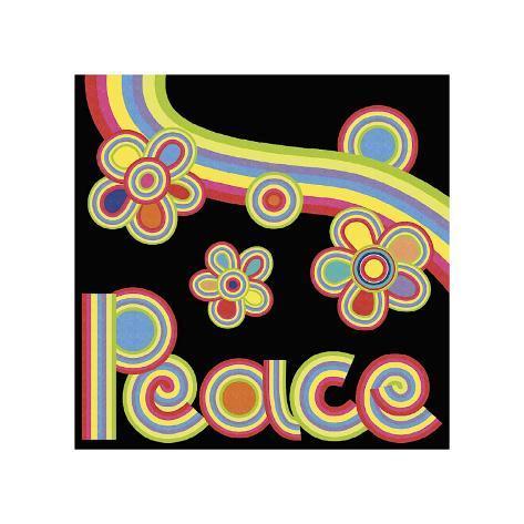 Peace Garden Giclee Print