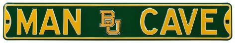 Man Cave Baylor Bears Steel Sign Wall Sign