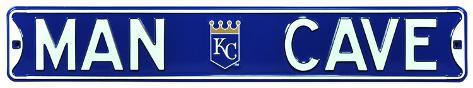 Man Cave Kansas City Royals Steel Sign Wall Sign
