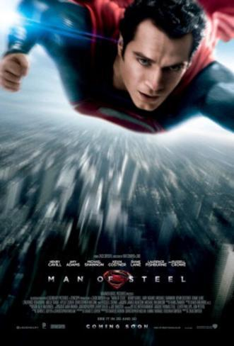 Man of Steel (Henry Cavill, Amy Adams) Movie Poster Poster double face